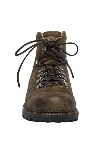 MichaelaX-Fashion-Trade Stockerpoint - Herren Trachten Schuhe, 4460, Größe:40, Farbe:Havanna gespeckt