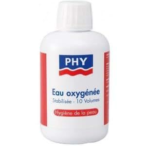 PHY Eau Oxygénée Stabilisée - 10 volumes Hygiène de la peau - 250ml