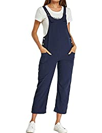 d0b8599453 Style Dome Women Dungarees Women Dungarees Ladies Denim Jumpsuits Strappy  Jumpsuits Baggy Overalls Casual Cotton Dungarees