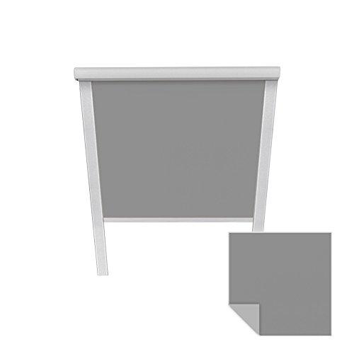 VICTORIA M Store obscurcissant convient pour Velux - Fenêtre de toit, S06 606 04, 97,3 x 94 cm, gris