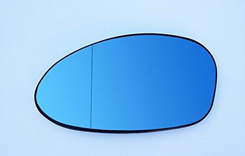 Spiegelglas Links Fahrerseite Beheizbar Asphärisch Blau
