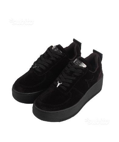 Windsor Smith RACERR, Sneaker a Collo Alto Donna Black