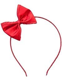 Roter Haareif mit roter Schleife (8x6 cm) 50er Retro Vintage Geschenk