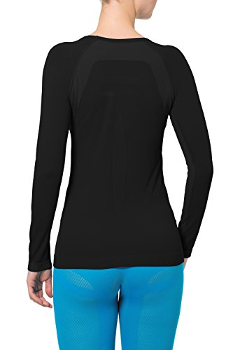 VAUDE Damen Seamless Light Long Sleeve T-Shirt Black