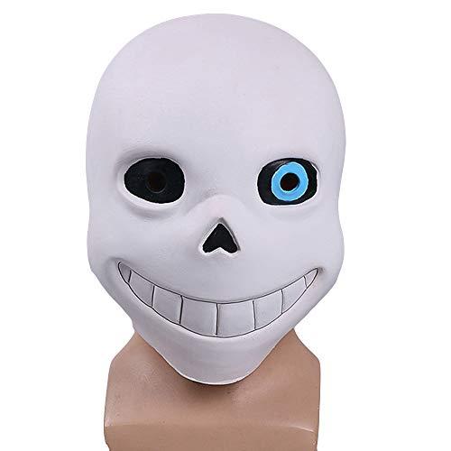 Papyrus Maske Cosplay Anime Latex Masken für Maskerade Party Kostüm Masked Ball Halloween,B-OneSize ()