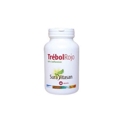 Trebol Rojo 40% Isoflavonas 60 cápsulas de Sura Vitasan