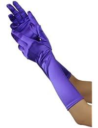 Classiques gants de gala satinés de haute qualité. Produit offert par NYfashion101 701148BL