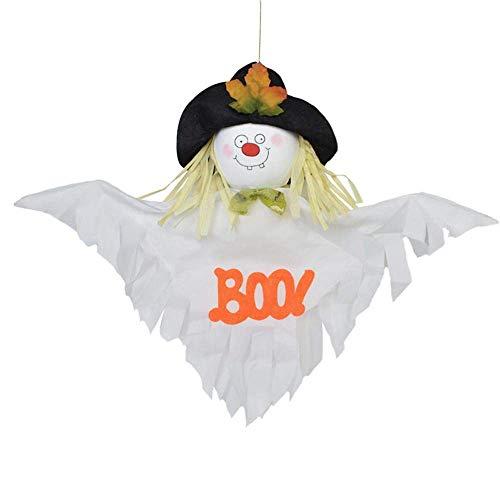Jamicy Mode Halloween hängen Indoor/Outdoor Party Dekoration Spielzeug Kinder Geschenk (Weiß) (Halloween-kostüm-clearance)