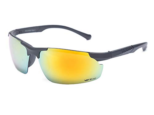 Rainbow Sportbrille VIPER Damen & Herren M1 Sonnenbrille Sportsonnenbrille Fahrradbrille
