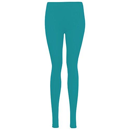LessThanTenQuid - Legging - Femme bleu sarcelle