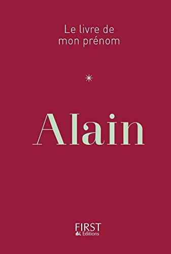 Le Livre de mon prénom - Alain