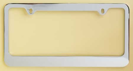 Medium Duty Frame - Chrome Plated Metal Numberplate Holder for American License Plates (12x6