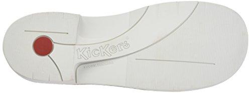 Kickers Cod, Bottines Classiques Femme Argent (Argent)
