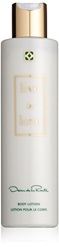 Oscar De La Renta Live in Love 200 ml Body Lotion, 1er Pack (1 x 200 ml) (Frische Zitrus-lotion)