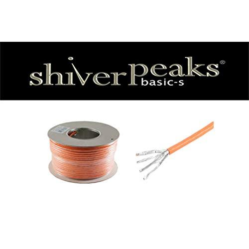 shiverpeaks Einziehbares Roll/anzupassen 100m CAT7S/FTP (STP) orange Netzwerk-Kabel-Kabel Netzwerk-(100m, CAT7, S/FTP (STP), orange) (Cat7 Roll)