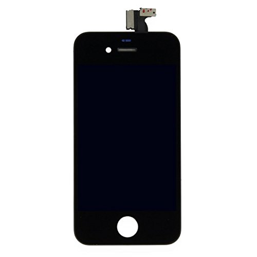 Image of Wigento Display LCD Komplett Einheit Touch Panel für Apple iPhone 4 Schwarz Ersatz Glas
