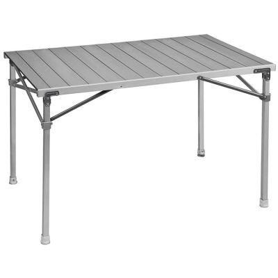 Brunner Campingbedarf Alu-Rolltisch Titanium Quadra 4