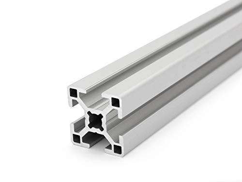 Aluminiumprofil 30x30 B-Typ Nut 8 - Standardlängen (7,80 EUR/m, min. 2,50 EUR) 2000mm