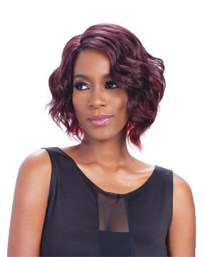 Freetress Equal Deep Invisible L Part Synthetic Lace Front Wig SAMMI (99J) by Freetress