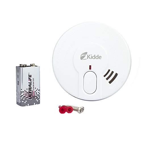 Rauchmelder Feuermelder Rauchwarnmelder Brandmelder mit Batterie Din EN14604 6-100 Stück (6)