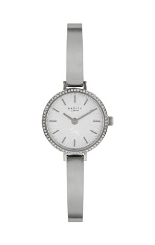 Radley Silver Stainless Steel Watch with Silver Stainless Steel Bangle Strap RY4315 Best Price and Cheapest