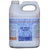 Fluidra 40922 - Minorador de ph líquido para electrolisis de Sal 10 l
