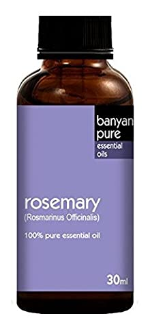 Rosemary 100% Pure Therapeutic Grade Essential Oil by Banyan Pure - 30 ml