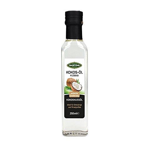 Mantova Kokosö, flüssig, zum Backen, Braten und Kochen 250 ml