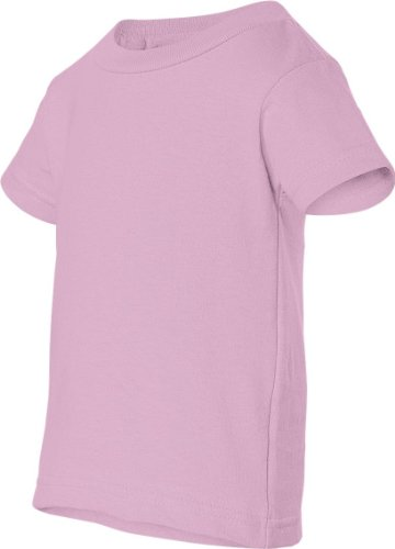 Obama Change auf American Apparel Fine Jersey Shirt Rosa - Pink