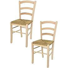 Amazon.it: sedia impagliata