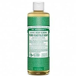 Dr Bronner Organic Almond Castile Liquid Soap 473 ml