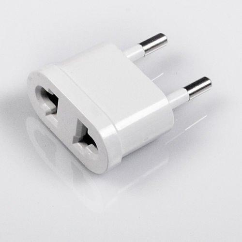 Reiseadapter USA/US/JP/CN auf EU/DE/AT Adapter AC Plug Netzteil Buchse Adapter Stecker