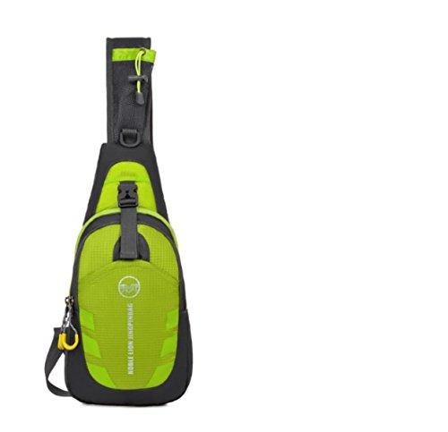 Bulage Borse Esterno Sacchetto Della Cassa Messenger Multi-funzionale Per Il Tempo Libero Portatili Piccoli Sport Borse Green