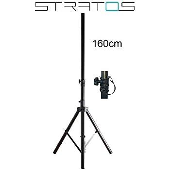 STRATOS Klapp Dreibein Sat Stativ Tripod Campingstativ für Satellitenantenne 1,05m (105cm) Höhe, 40mm Durchmesser der Maststange Premium Dreibein Stativ für Camping Sat Antennen 1,6m