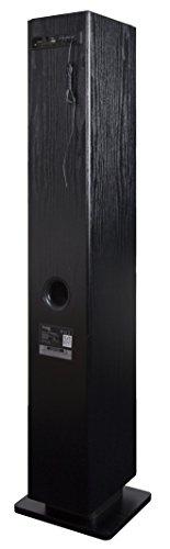 Prestige Audio PR-TOWERCDBK Tour audio avec Lecteur CD Bluetooth pour Smartphone/Pc portable Noir