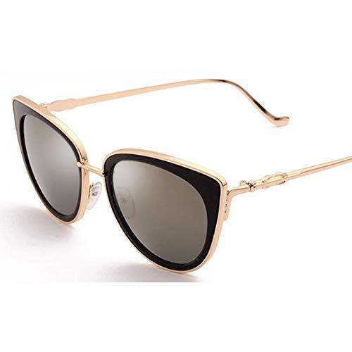AAMOUSE Sonnenbrillen Blaue Spiegel cat Eye Sonnenbrille australische Mode promi Shades für Frauen erSommer trendy Brillen Eyewear
