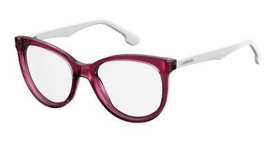 Carrera Damen 5545/V W6Q 52 Sonnenbrille, Rot (Pkwhtgrnred)