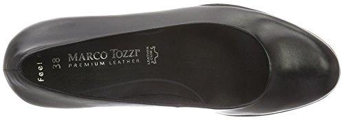Marco Tozzi 2-2-22419-27 002, Scarpe con Tacco Donna Nero (Black Antic 002)