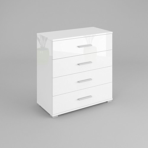 Labi BETI Commode Buffet BETI Blanc brillant