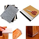 #9: New and imporeted Super Large Thick Table Leg Pads Protectors Adhesive Cushions Furniture Floor Protection Non Slip Rug Felt Pads