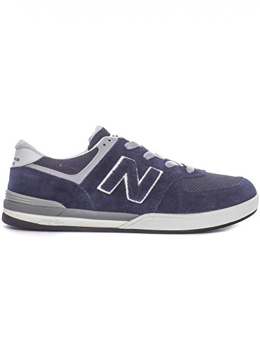 New Balance Numeric Mens Logan S 636 Skateboard Sneaker NM636 (9.5, Navy/Grey)