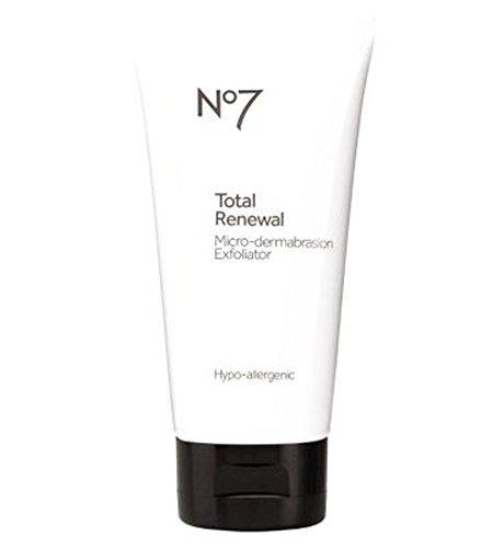 No7 Total Renewal Micro-Dermabrasion Face Exfoliator by No7