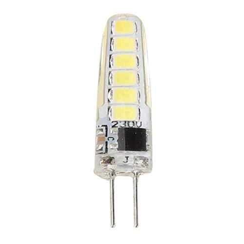 Asiproper Mais Licht LED Glühbirne G4 Lamp Head 12pcs SMD2835 Bead 220V LED Bulb Light Energy-saving Corn Lamp (Weiß) -