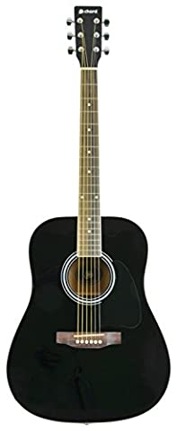 Chord cw26-bk Droitier pour guitare acoustique Western Style–Noir