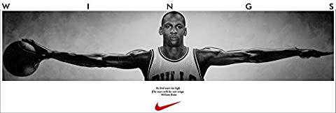Michael Jordan Customized 41x14 inch Silk Print Poster/WallPaper Great Gift