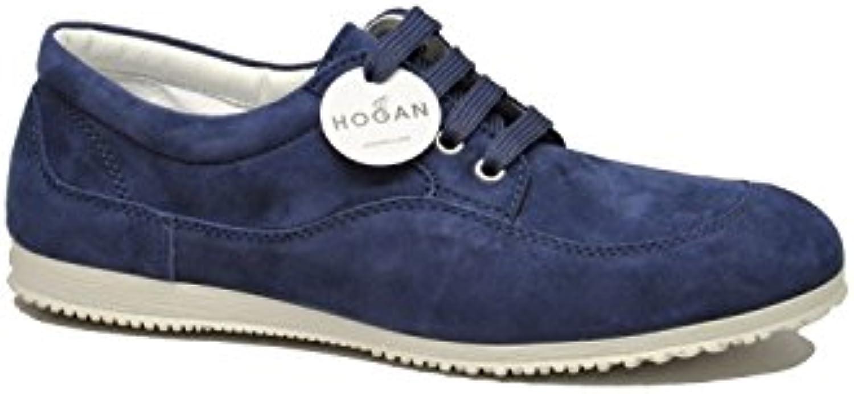 Hogan Mujer HXW00E00010CR0U805 Azul Gamuza Zapatillas  Venta de calzado deportivo de moda en línea