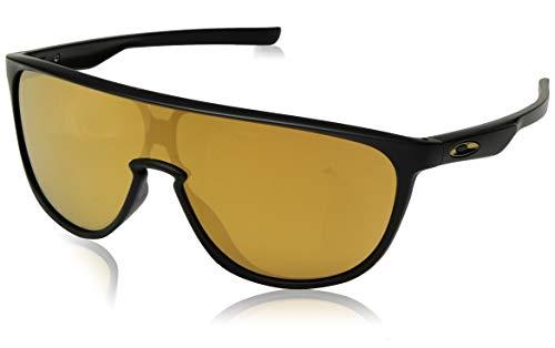 Oakley Herren 0OO9318 Sonnenbrille, Mehrfarbig (Matte Black), 40