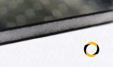 Ascending Composites CFK-Rohacell-Sandwichplatte 4,4 mm x 300mm x 600mm