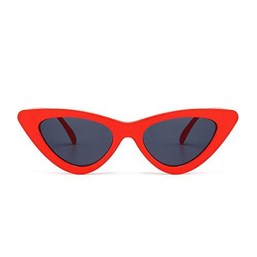 Sport-Sonnenbrillen, Vintage Sonnenbrillen, Cute Sexy Retro Cat Eye Sunglasses Women Small Black White NEW Triangle Vintage Cheap Sun Glasses Red Female Uv400 as shown in photo clear gree