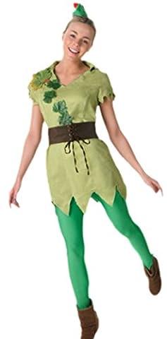 erdbeerloft–Femme Peter Pan, Costume, Carnaval, S de l, vert - Vert - Large